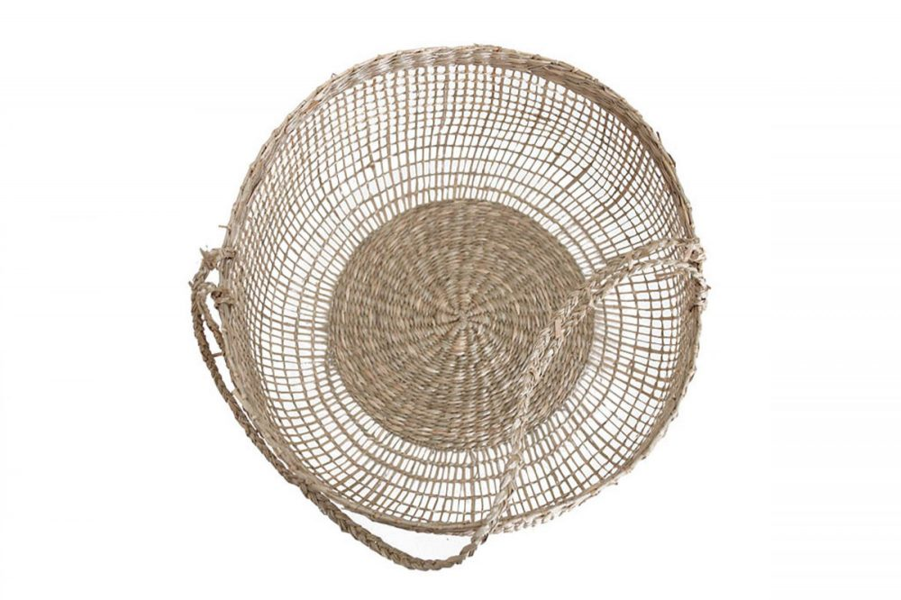 Wevon basket with handle l