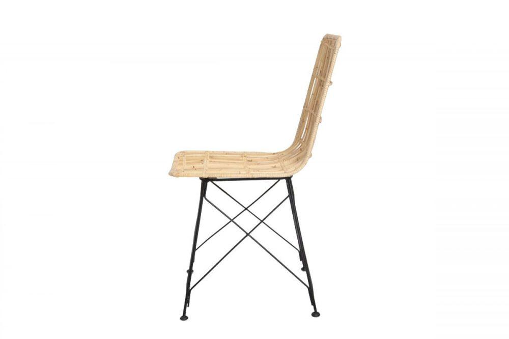Καρέκλα τραπεζαρίας KM natural 45x55x85