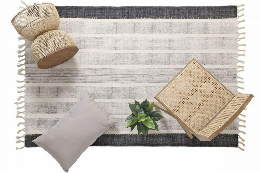Lotus cotton kilim
