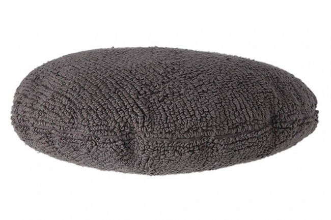 Lorena canals cushion topo gris oscuro