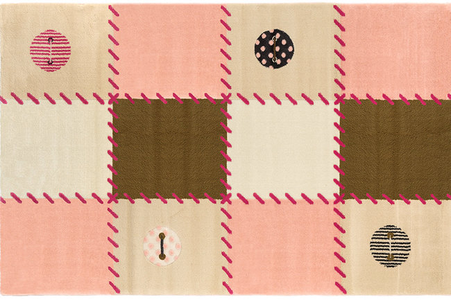 Saint clair patchwork pink