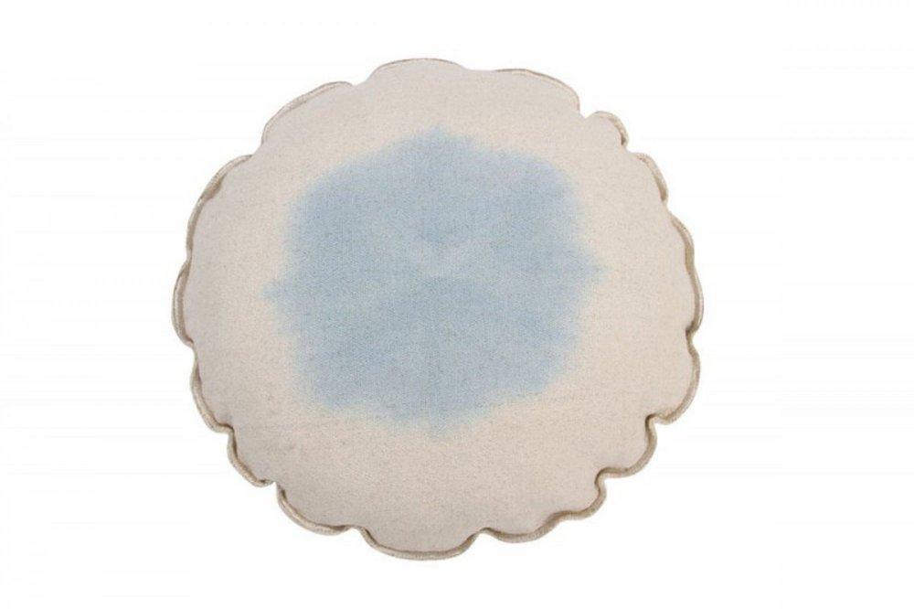 Lorena canals cushion tie dye soft blue