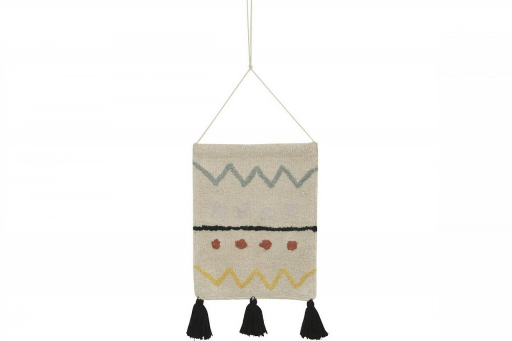 Lorena canals wall hanging azteca