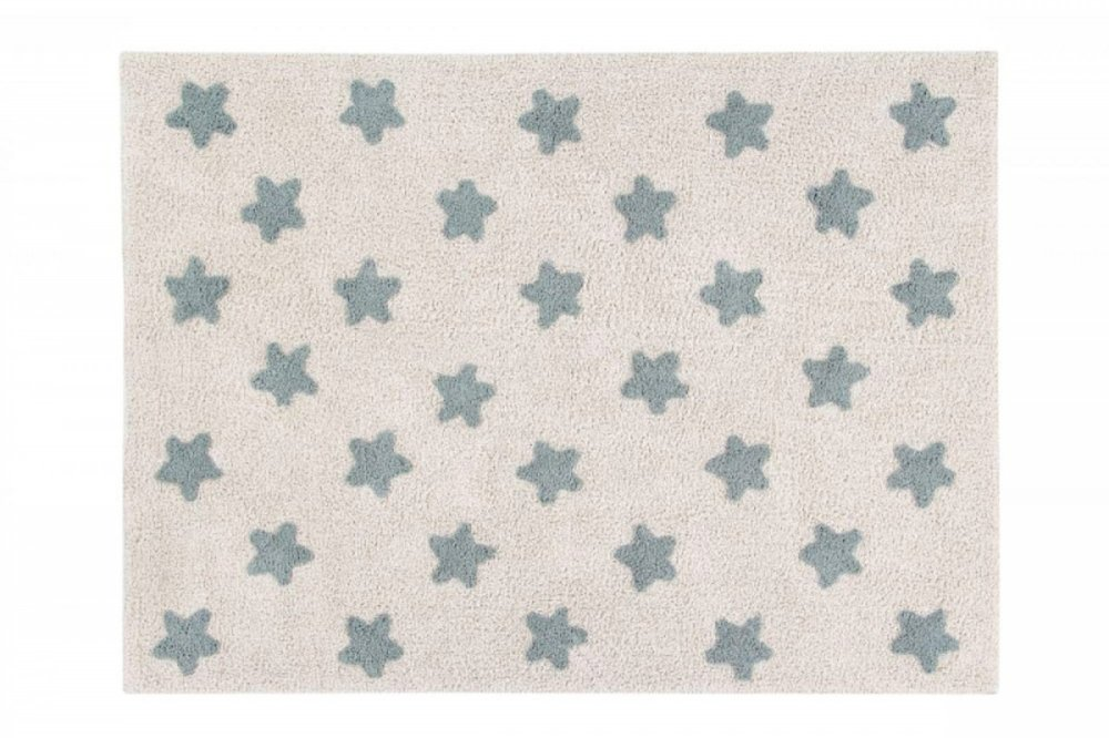 Lorena canals stars natural vintage blue