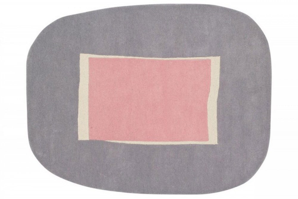 Lorena canals wool rug lake pink