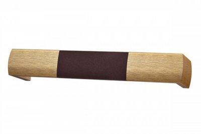 ecarpets Μετώπη συνδυασμός αλουμινίου (σκουριά) - ξύλο (αντικέ)