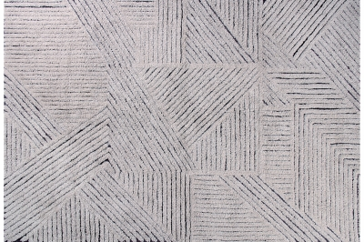 ecarpets Lorena canals woolable rug black chia
