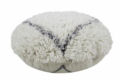 ecarpets Lorena canals cushion pouffe woolable berber soul