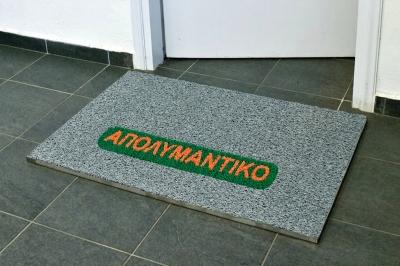 ecarpets Απολυμαντικά πατάκια 16mm με λογότυπο