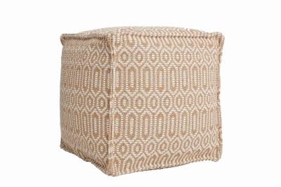 ecarpets Casa cotton pouf 22075 54x54x54