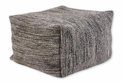 ecarpets Biento woolen pouf 70x70x40