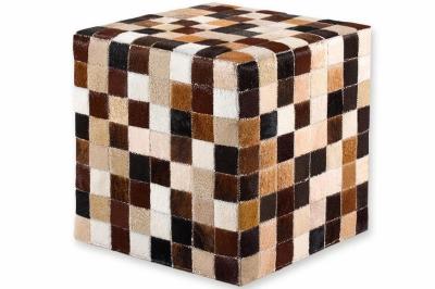ecarpets Cow skin cube 40x40x40