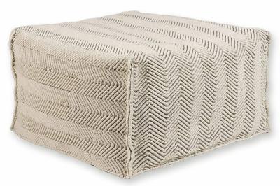 ecarpets Herringbone pouf