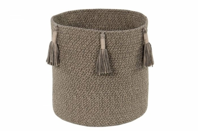 ecarpets Lorena canals basket woody soil brown 30x30