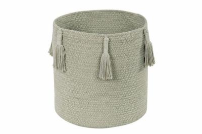 ecarpets Lorena canals basket woody olive