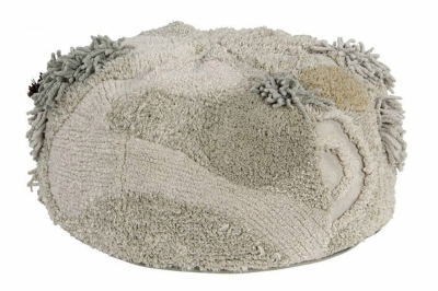 ecarpets Lorena canals cushion pouffe rock