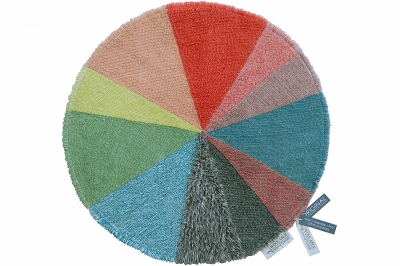 ecarpets Lorena canals woolable pie chart