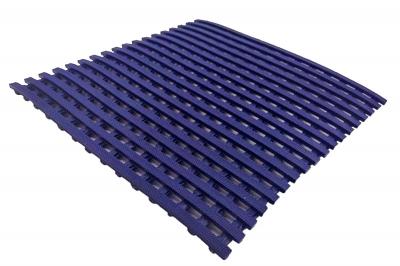 ecarpets Πλαστικό δάπεδο σχάρα πισίνας atni-slip mat 10mm blue