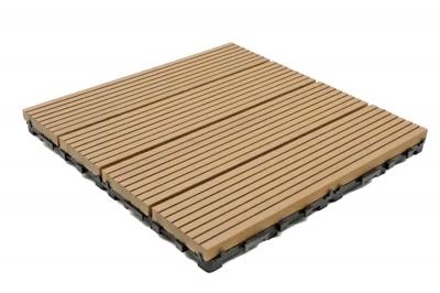 ecarpets Deck-Wpc Πλακάκι Δαπέδου 12mm 30x30