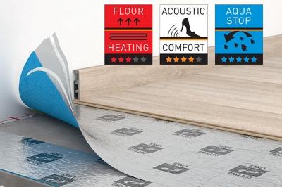 ecarpets Υπόστρωμα Laminate Optima aquastop 2mm