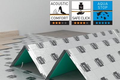 ecarpets Υπόστρωμα Laminate Secura aquastop 2.20mm