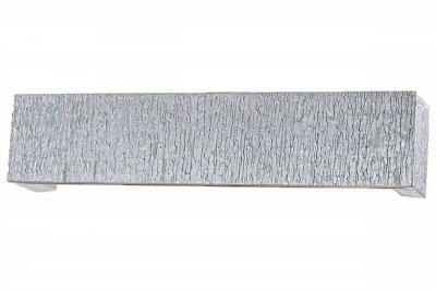 ecarpets Μετώπη  ασημί ξύλινη