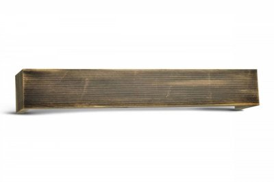 ecarpets Μετώπη αλουμινίου μαύρο μπρονζέ ριγέ