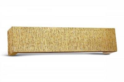 ecarpets Μετώπη  χρυσή ξύλινη