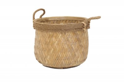 ecarpets Bamboo basket with handles