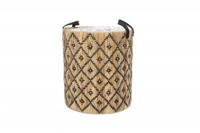 ecarpets Check basket with handles big