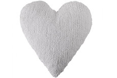 ecarpets Lorena canals cushion corazon blanco