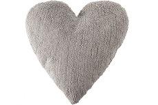 ecarpets Lorena canals cushion corazon gris claro
