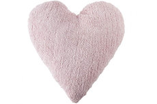 ecarpets Lorena canals cushion corazon rosa 50x50