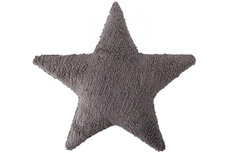 ecarpets Lorena canals cushion dark gray star 50x50