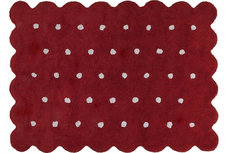 ecarpets Lorena canals galleta rojo red
