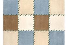 ecarpets Saint clair patchwork blue