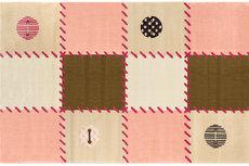 ecarpets Saint clair patchwork pink