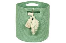 ecarpets Lorena canals basket leaf green