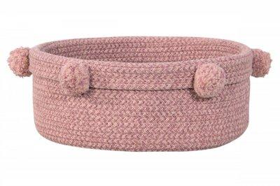 ecarpets Lorena canals baby basket tray ash rose