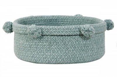 ecarpets Lorena canals baby basket tray vintage blue
