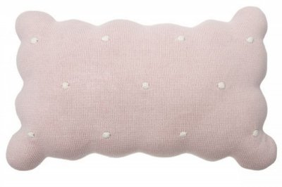 ecarpets Lorena canals cushion biscuit pink