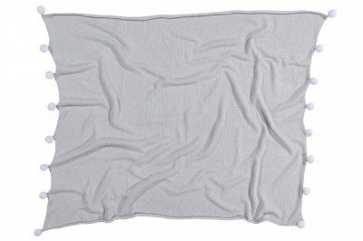 ecarpets Lorena canals blanket bubbly grey