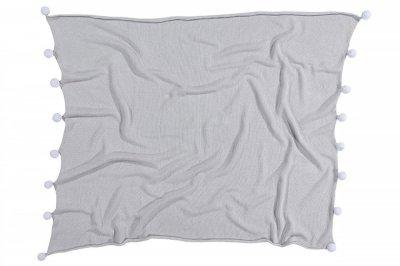 ecarpets Lorena canals blanket bubbly grey