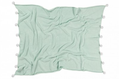 ecarpets Lorena canals blanket bubbly mint
