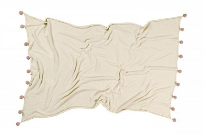 ecarpets Lorena canals blanket bubbly natural nude