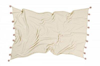 ecarpets Lorena canals blanket bubbly natural nude