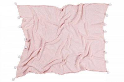 ecarpets Lorena canals blanket bubbly pink