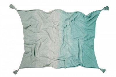 ecarpets Lorena canals blanket ombre mint