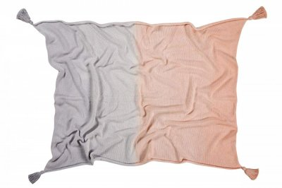 ecarpets Lorena canals blanket ombre pink lavender