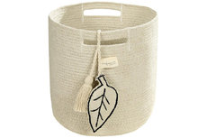ecarpets Lorena canals basket leaf natural Ø30x30